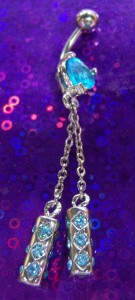 Double Dangle Belly Ring