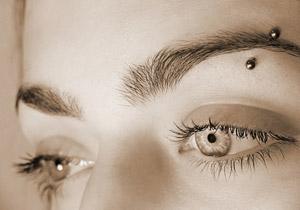 Standard Eyebrow Piercing